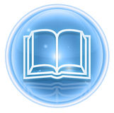 Book icon ice Royalty Free Stock Photography