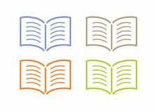 Book icon Stock Image