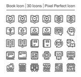 Book icon. Book line icon set,vector Stock Photo