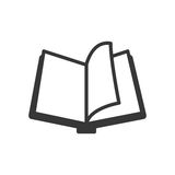 Book icon. Reading and learning design. Vector graphic stock illustration