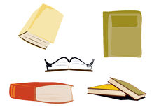 Book Icons Royalty Free Stock Image
