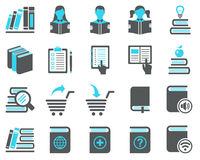 Book icons. Stock Photo