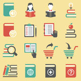 Book icons. Stock Images