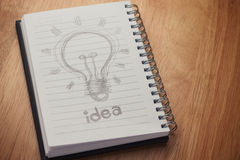 Book Of Idea Stock Photos
