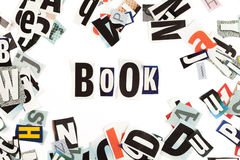 Book inscription Stock Images