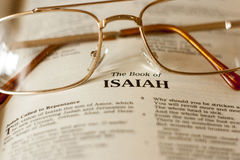 The Book of Isaiah Royalty Free Stock Images