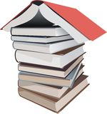 Book isolated Royalty Free Stock Photos