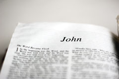 Book of John Royalty Free Stock Image
