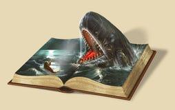 Book of Jonah. Bible stories. stock photo