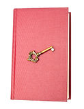 Book and key Royalty Free Stock Photo