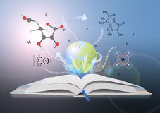 Book of knowledge. The concept of the learning sciences Stock Image