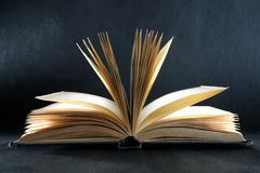 The book of knowledge stock photography