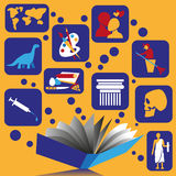 Book and knowledge Royalty Free Stock Photo