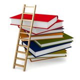 Book ladder Stock Photos