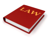 Book of Law Royalty Free Stock Photography