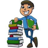 Book learning Stock Images