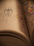Book of Life: Genetics royalty free illustration