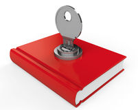 Book with lock Stock Images