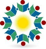 Book logo vector illustration