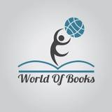 Book logo Stock Image