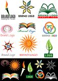 Book logos Stock Images