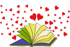 The Book of Love Stock Photo
