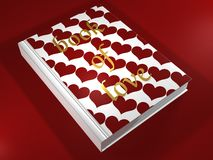 Book of Love - 3D Stock Images