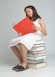Book lover Royalty Free Stock Images