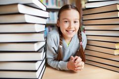 Book lover Stock Photography