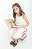 Book lover Royalty Free Stock Photo