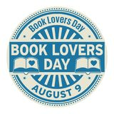 Book Lovers Day, August 9 Royalty Free Stock Photos