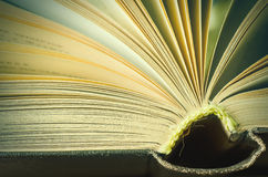 Book macro Royalty Free Stock Photography