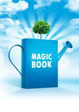 book magic 免版税库存照片