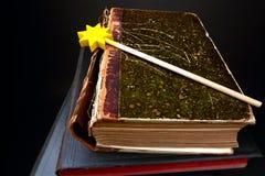 book magic 库存照片