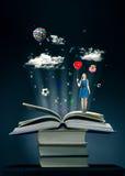 book magic стоковая фотография