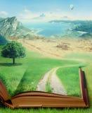 book magic 图库摄影