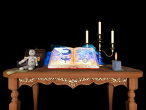 book magic 免版税图库摄影