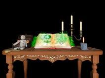 book magic стоковые изображения