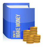 Book with a making money title Royalty Free Stock Photo