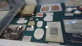 Book And Manuscript Collection Of Academician N. P. Likhachev Stock Photography
