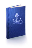 Book of marine - clipping path Royalty Free Stock Photo