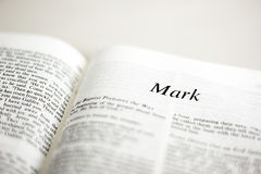 Book of Mark Stock Photos