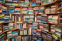 Book market corner Royalty Free Stock Image