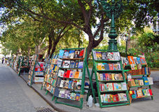 Book market in havana Royalty Free Stock Image