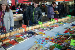 Book Market in London Stock Photo