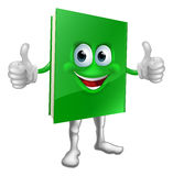 Book mascot education concept Royalty Free Stock Photography
