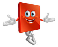 Book mascot man Royalty Free Stock Photo