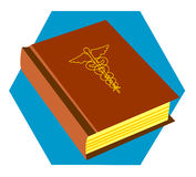 Book of Medicine. A great stock illustration for all medical learning purposes Stock Photo