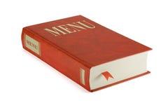 Book Menu Stock Image