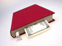 Book and money Stock Image